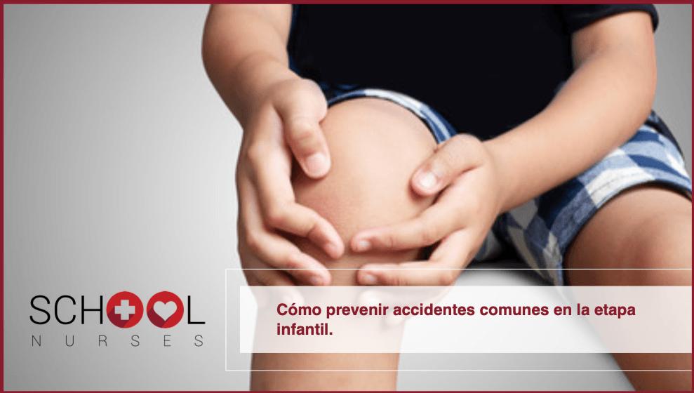 Cómo prevenir accidentes comunes en la etapa infantil