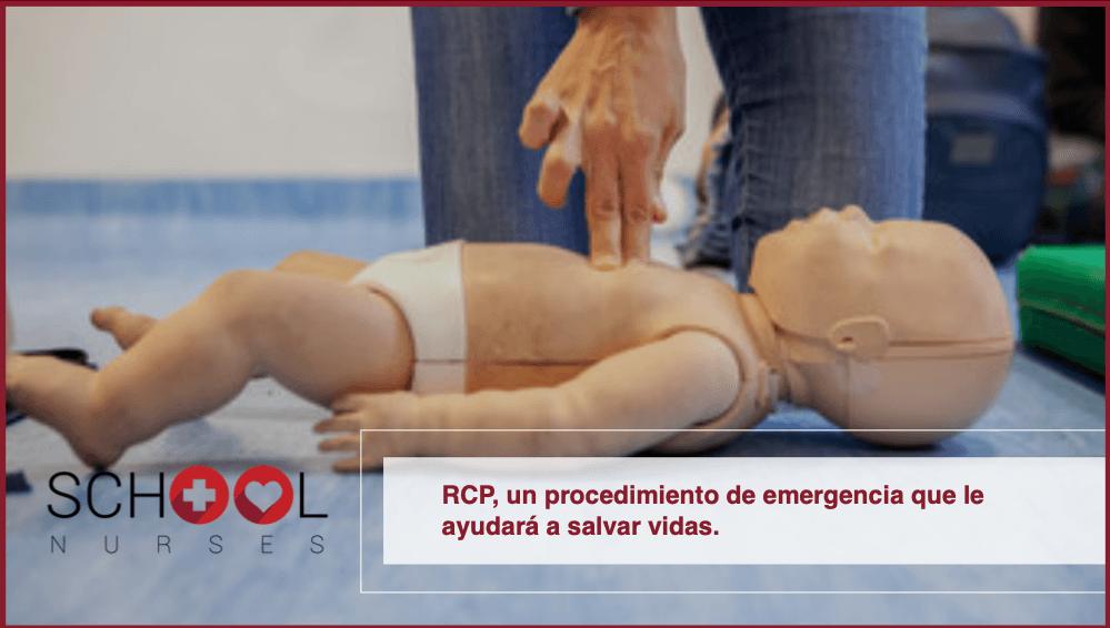 RCP, un procedimiento de emergencia que le ayudará a salvar vidas
