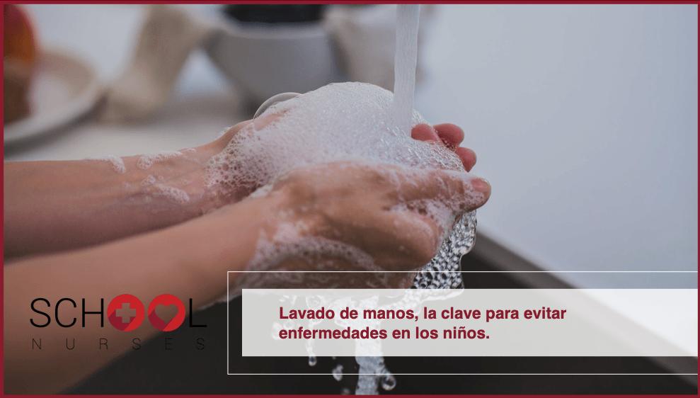 Lavado de manos, la clave para evitar enfermedades en los niños
