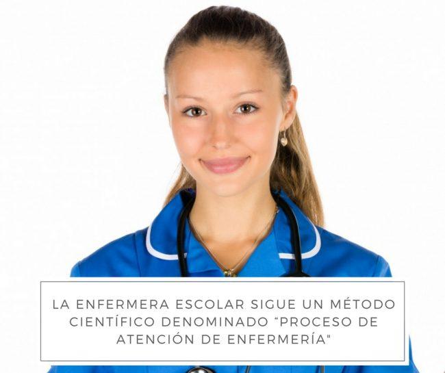 enfermera escolar proceso de atención de enfermería