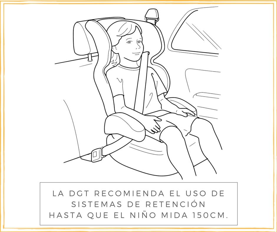sistemas retencion infantil para evitar lesiones infantiles en accidentes de trafico