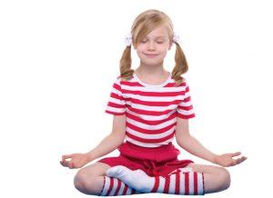 Yoga de niños para dormir