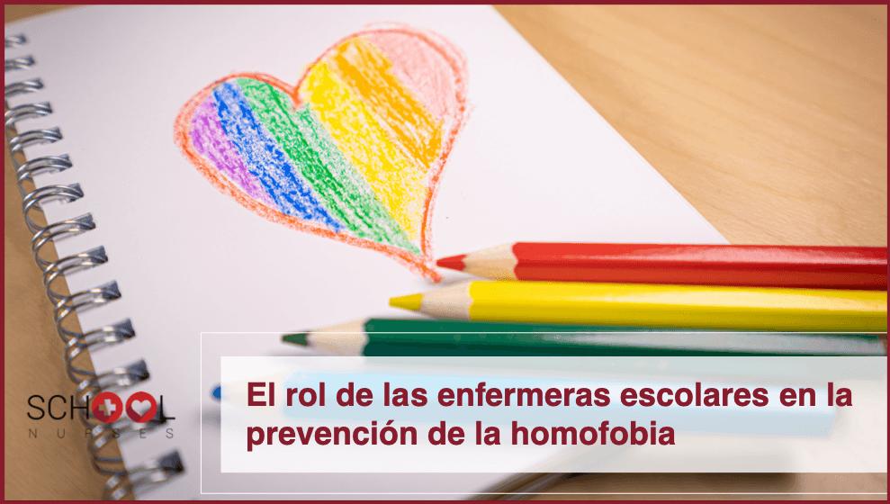 El rol de las enfermeras escolares en la prevención de la homofobia