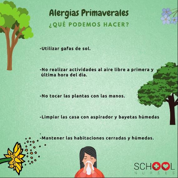 Alergias primaverales Redes