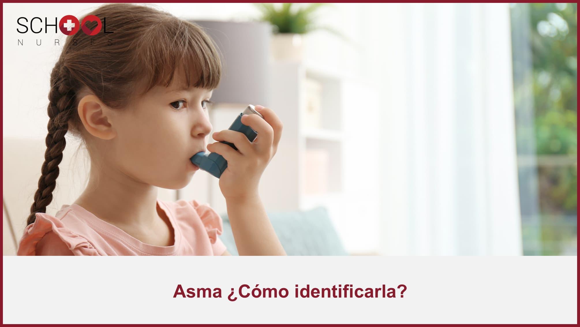 Cómo identificar el asma