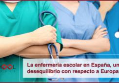 La enfermería escolar en España, un desequilibrio con respecto a Europa.