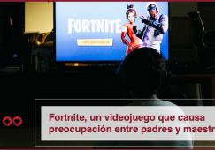 Fortnite, un videojuego que causa preocupación entre padres y maestros