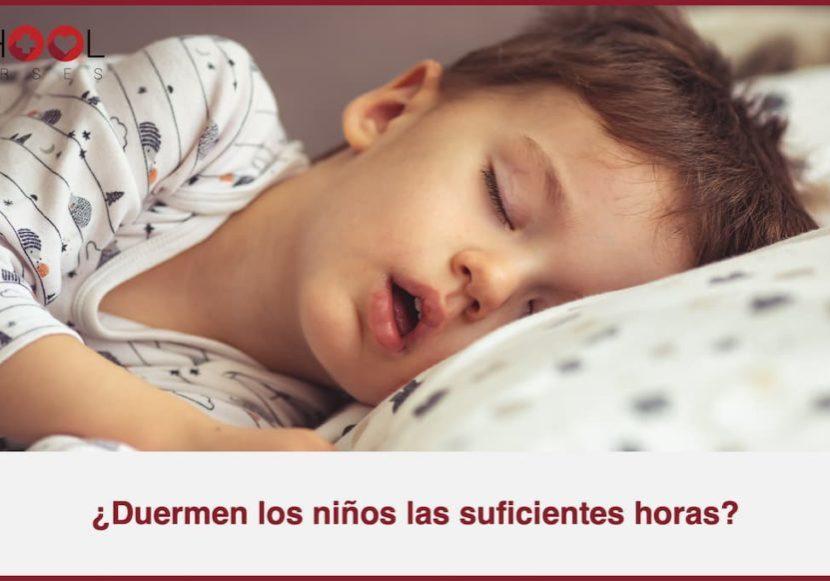 dormir niños